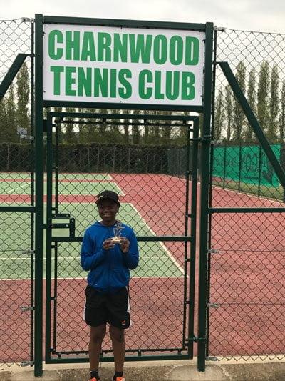Charnwood grade 4 tournament winner