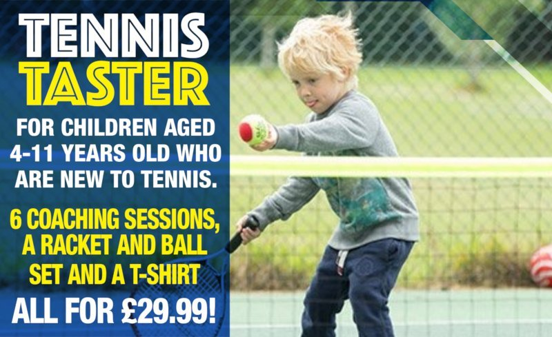 Tennis for Kids - Tennis Taster Sessions
