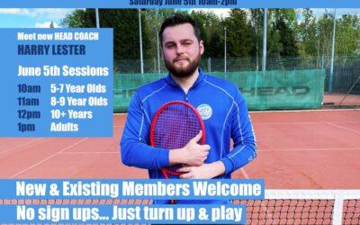 GSM at Gynsill Tennis Club, Anstey