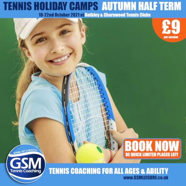 Autumn Half Term Tennis Camps
