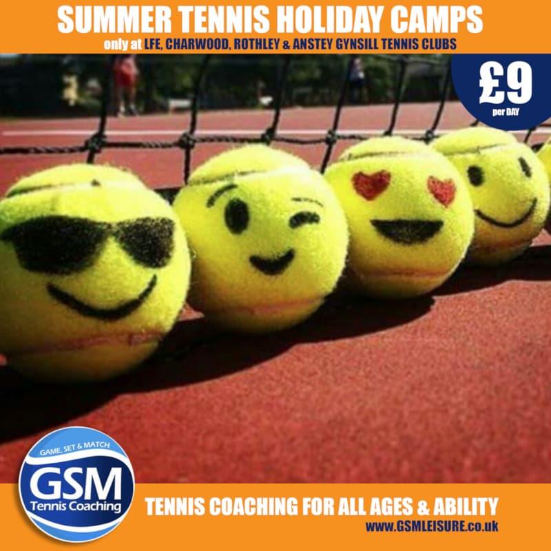 GSM - SUMMER Tennis Camps