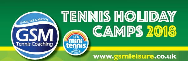 GSM tennis holiday camps