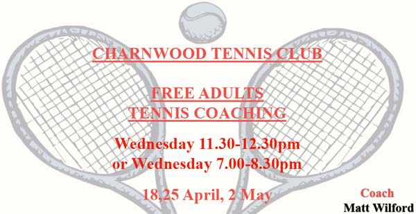 charnwood adults coaching