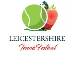 The Leicestershire Tennis Festival logo
