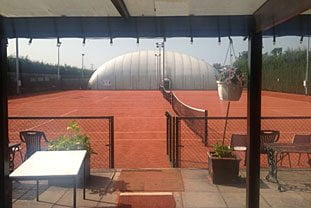 LFE Tennis Club - view from the Clubhouse