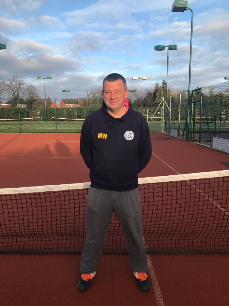 Matt Wilford - Head Coach Charnwood Tennis Club